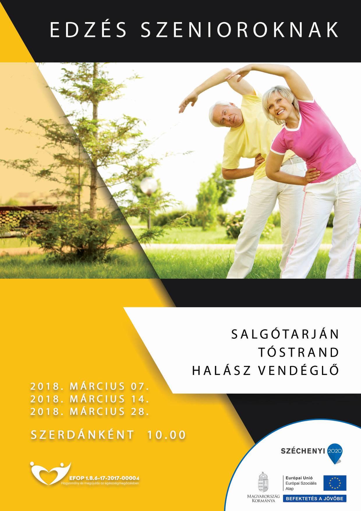 Salgótarján – Edzés szenioroknak – 2018. március