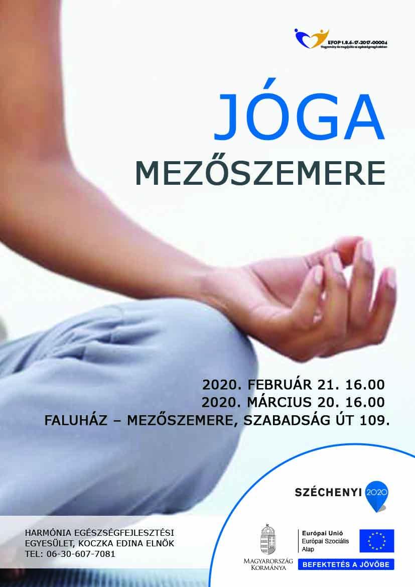 Mezőszemere – Jóga – 2020. február 21 és március 20.