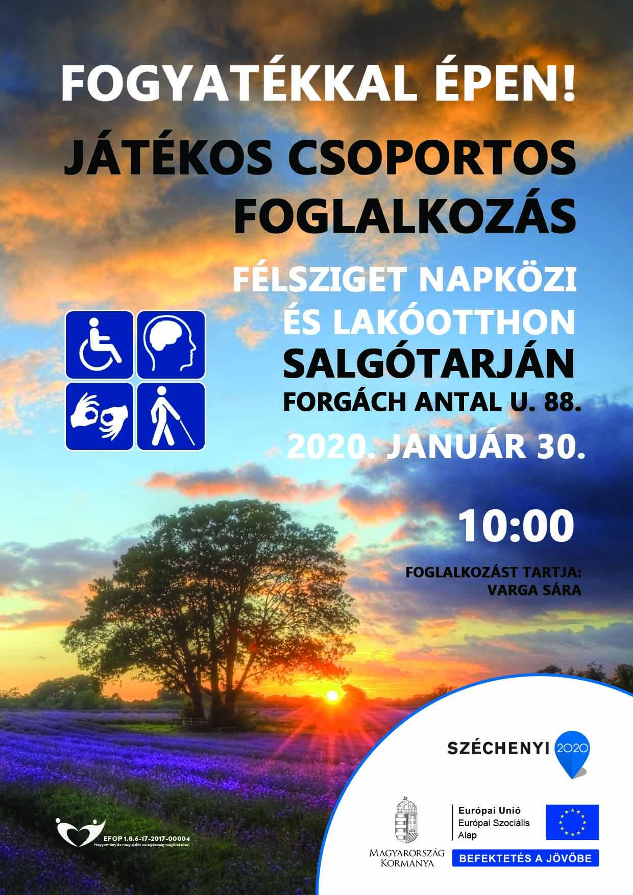 Salgótarján – Fogyatékkal épen! – 2020. január 30.