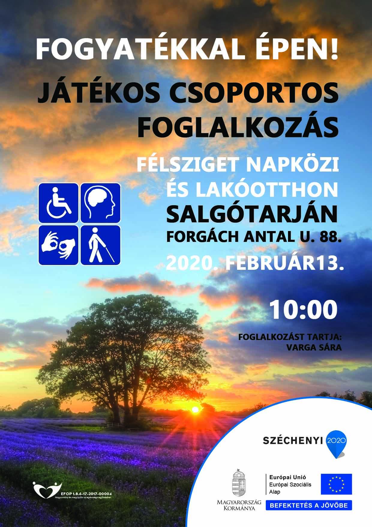 Salgótarján – Fogyatékkal épen! – 2020. február 13.