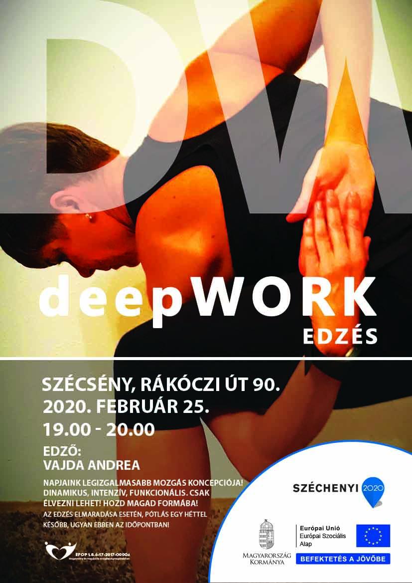 Szécsény – Deepwork Edzés – 2020. február 25.