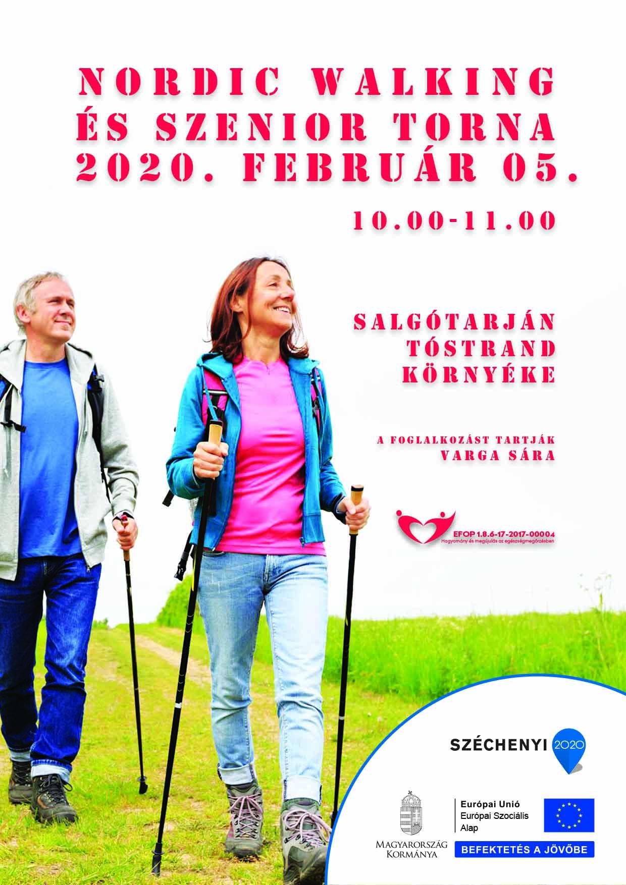 Salgótarján – Nordic Walking és Szenior torna – 2020. február 05.