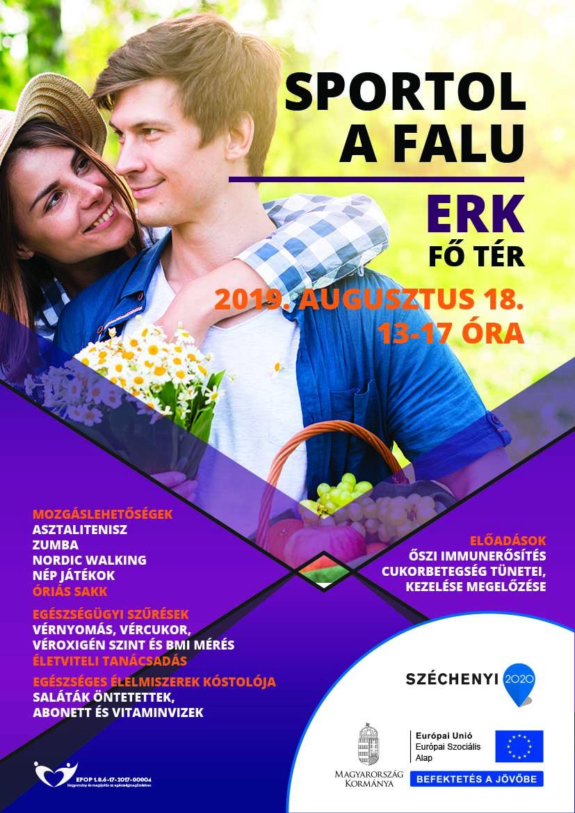 Erk – Sportol a falu – 2019. augusztus 18.