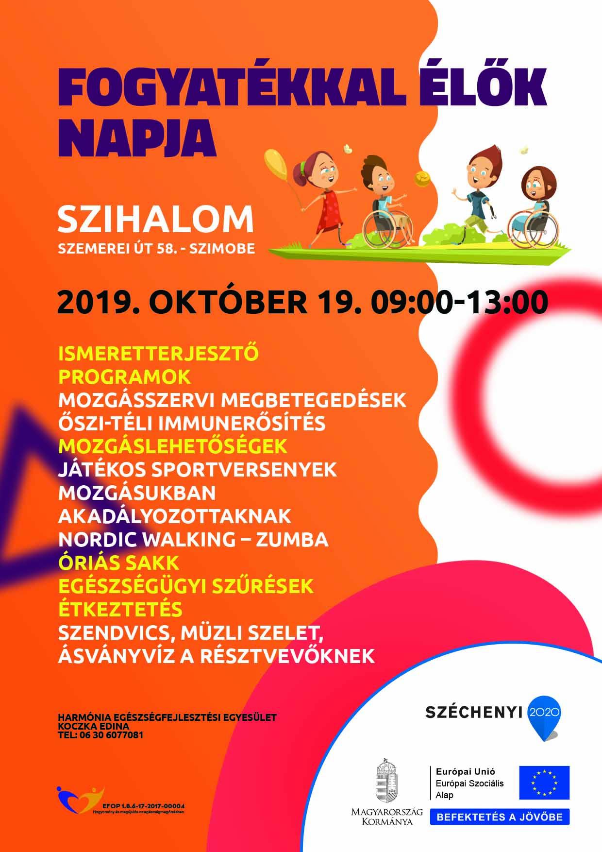 Szihalom – Fogyatékkal élők napja – 2019. október 19.
