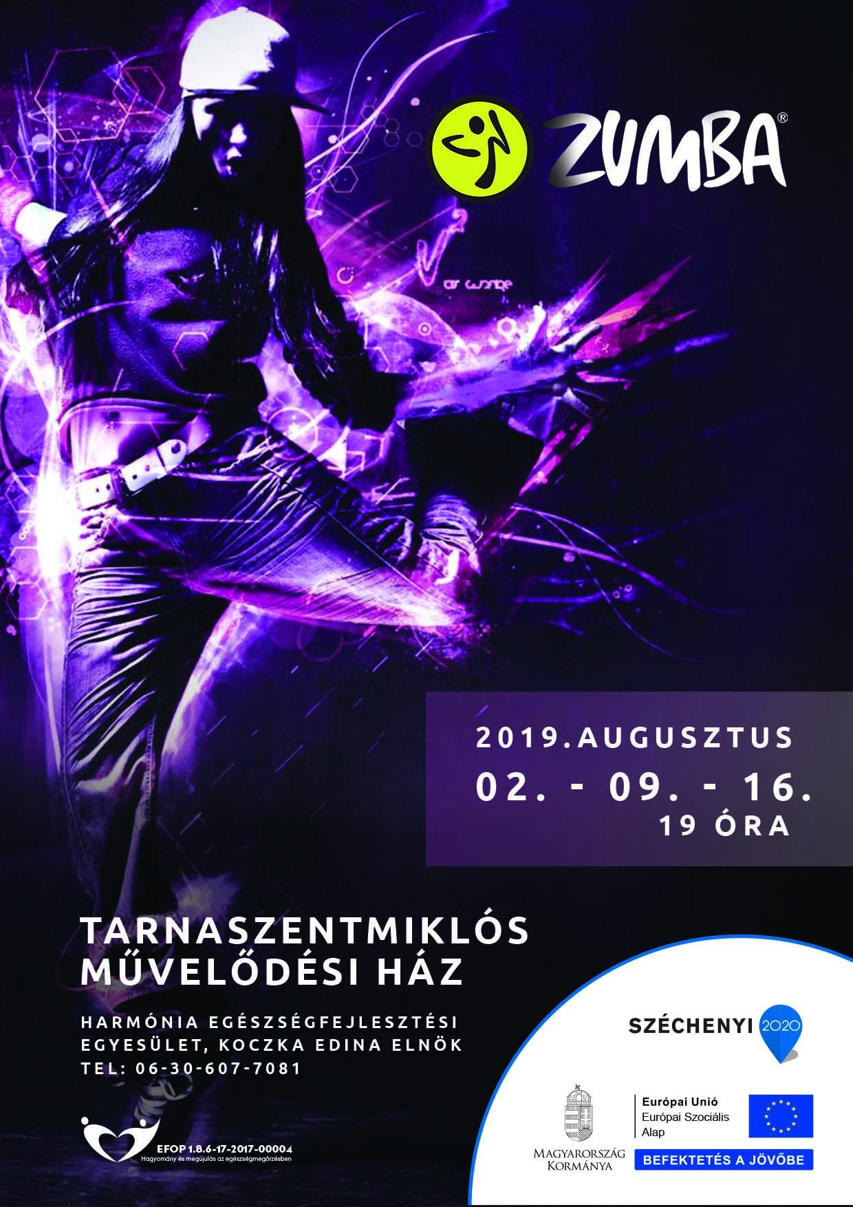 Tarnaszentmiklós – Zumba – 2019. augusztus